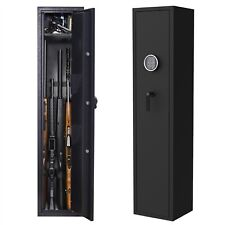 5 Rifle & 2 Pistol Gun Safe Storage Cabinet with Digital Keypad Lock Security