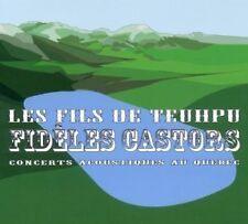 """CD NEUF """"FIDELES CASTORS - CONCERTS ACOUSTIQUES AU QUEBEC"""" Les Fils de Teuhpu"""