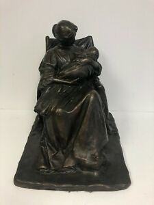 A Young Mother by Bessie O. Potter VonnohStatue Bronze/Plaster w/Patina 1903