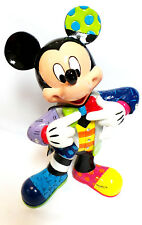 """NEW  Disney Britto Special Anniversary Mickey Mouse Figurine (6001010) 8"""" tall"""