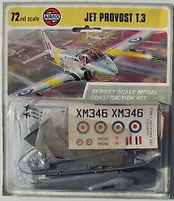 AIRFIX 01029-4 - JET PROVOST T.3 - 1:72 - Flugzeug Modellbausatz - Model Kit