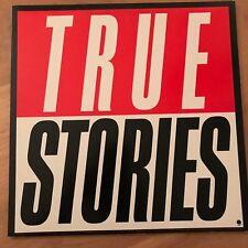 TALKING HEADS  TRUE STORIES 1986 Vinyl LP Sire 25512 Excellent Condition