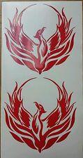 2 x Phoenix nella scelta del colore-auto adesivo vinile, decalcomanie, grafiche, Tribale