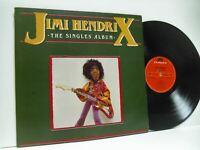 JIMI HENDRIX the singles album DOUBLE LP EX/VG, PODV 6, vinyl, greatest hits, uk