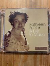 Kathleen Ferrier A Life In Music CD Album Pop Music Classical + DVD Mint