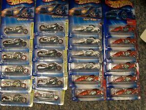 Hot Wheels Motorcycles Woosie Airy 8 Lot of 24 Bulk