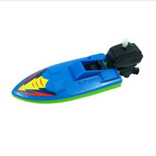 Creative Wind Up Clockwork Boat Ship Toys Play Water Swimming Bath Toy For Kid