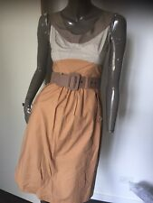 CUE Gorgeous Corporate Belted dress  size 6
