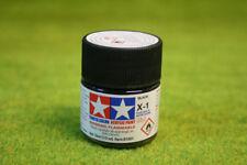Tamiya Color brillo acrílico Negro Mini Pintura X1 10mls