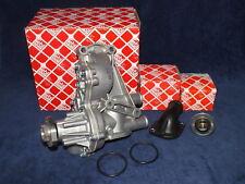 Wasserpumpe VW FEBI + Thermostat 87° + Flansch 1,6-2,0 G60 16V Turbo 2L TDI