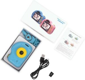 Kids Camera Mini Digital camera with 32GB TF Card Rechargeable Selfie Child