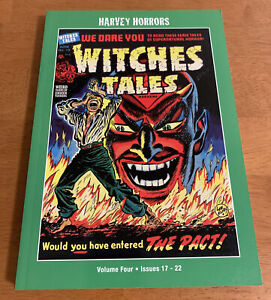 HARVEY HORRORS Collected Works WITCHES TALES - Volume 4 Issues 17-22 PSArtbooks