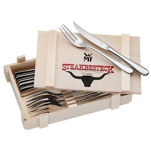 WMF Besteck Steakbesteck 12tlg Edelstahl poliert