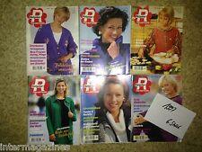 Magazine Ratgeber Frau und Familie,Jahrgang 1997(6 Hefte)Kochen/Backen,Gesundhei