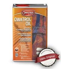 Owatrol Öl Kriechöl 0,5L 27,80€/l Rostschutz Holzschutz Kanister mit Verschluss
