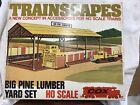 Cox HO Scale Trainscapes Big Pine Lumber Yard Set 6039 (F75)