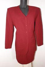 Rotes Kostüm mit Rock und Blazer von Orsay Größe 38 - 40