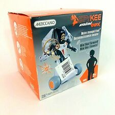 Meccano SpyKee mini vox interactive Voice Activated Build Robot New Boxed