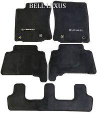 NEW LEXUS OEM FACTORY 5PC CARPET FLOOR MAT SET 2014-2018 GX460 BLACK