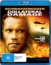 Collateral Damage - Action / Thriller - Arnold Schwarzenegger - NEW Blu-Ray