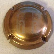 Capsule de champagne GEOFFROY R. (14c. or-bronze et gris)