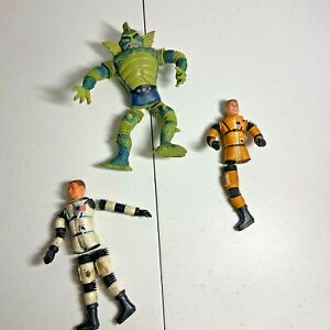 "Vintage 1967 Mattel Major Matt Mason Man in Space ""Action Figures"" Parts Lot"