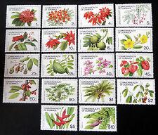 """Freimarken """"Blumen u. Früchte 1981"""", Mi.Nr. 730/47 I postfrisch (P0521)"""
