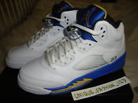NIKE AIR JORDAN 5 V LANEY GS US 4.5Y UK 4 36.5 2013 RETRO FEAR 4 BRED 1 OREO 6