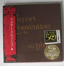FAIRPORT CONVENTION - Nine + 4 BONUS JAPAN SHM MINI LP CD OBI NEU! UICY-93997