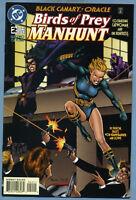 Birds of Prey Manhunt #2 1996 Black Canary Oracle Huntress Catwoman DC Comics