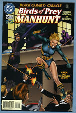Birds of Prey Manhunt #2 1996 Black Canary Oracle Huntress Catwoman DC Comics