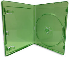 Single =XBOX ONE= 12mm Translucent Green Replacement Game Case 50-Pak