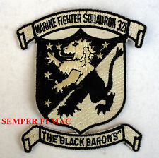 VMFA 321 US MARINES FIGHTER SQUADRON COLLECTOR PATCH MARINE USMC BLACK BARON