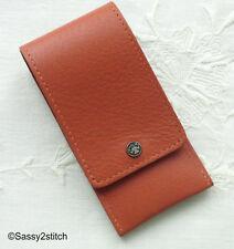 DOVO Leather Scissor Pocket - Terra Cotta