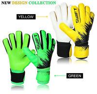 Football Goalkeeper Goalie Negative Cut Without Finger Saver Soccer Gloves - New