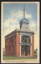 Postcard DEARBORN Michigan/MI  Sir John Bennett's Jewelry Store w/Clock 1930's