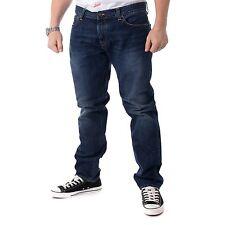 Carhartt BUCANERO Pant Cuerda Lavado Pantalones Vaqueros Hombre Azul Oscuro
