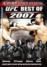 UFC - The Best of 2007 (DVD, 2008, 2-Disc Set, Ultimate Edition)