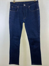BDG @ Urban Outfitters dark raw drainpipe high rise skinny ankle jeans size 10