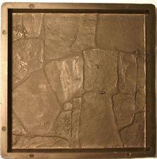 5 Moules pour fabrication dalle de terrasse polygonale antique 30 x 30 cm