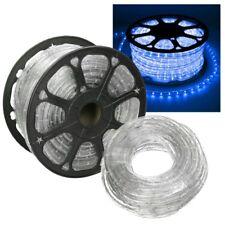 Cadena de luces LED tubo luz multicolor tira de LED cinta flexibile 10-50m RGB