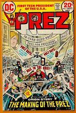 Prez DC Comic Book-#1(Bronze)/1973