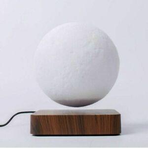 Creative 3D Printing Magnetic Levitation Moon Lamp LED Home Room Decoration Kit