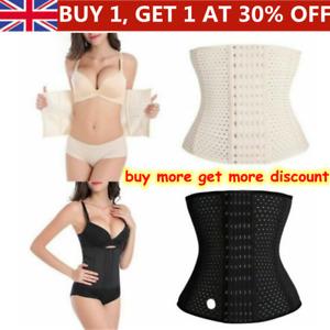 Women Corset Waist Trainer Slimming Body Shaper Underbust Cincher Tummy Belt HOT
