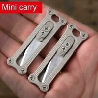 Titanium EDC Mini Utility Portable Keychain K2F6 I1K1