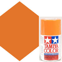 Tamiya Polycarbonate Orange Spray Paint PS-7