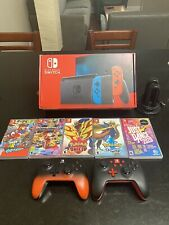 Nintendo Switch v2 Bundle With 5 Games, Two Controllers, And Joycon Charger