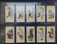 More details for hignett 1936 dogs - complete set of 50 cigarette cards