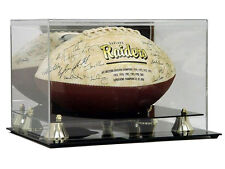 NEW Saf-T-Gard NFL Football Deluxe Acrylic Display Case w/ Mirror Back AD04