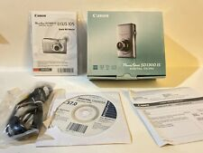 Canon PowerShot Digital ELPH SD1300 IS (BOX And Accessories ONLY) See Photos